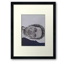 JIMMY JOHNSON NASCAR STAR Framed Print