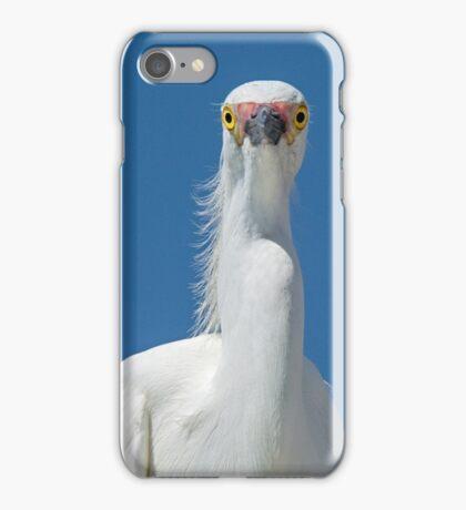 Staring Egret iPhone Case/Skin