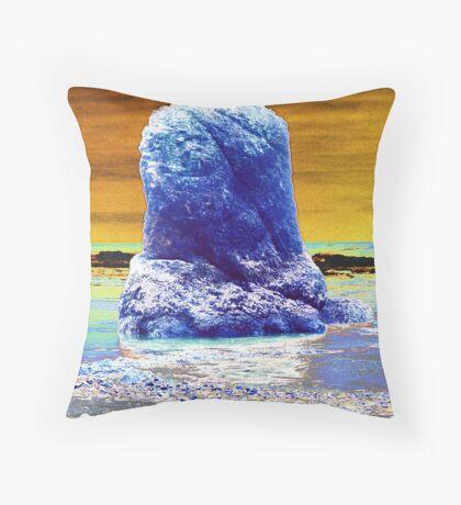 Sea Stack Throw Pillow