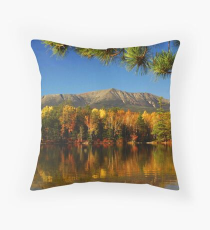 Autumn Baxter Mt. Katahdin Throw Pillow