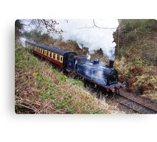 Caledonian Railway 419 Journey Canvas Print