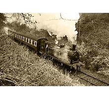 Caledonian Railway 419 Journey (Sepia) Photographic Print