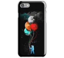 The Spaceman's Trip iPhone Case/Skin