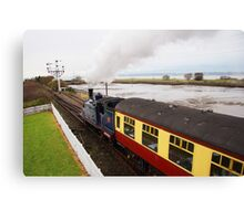 Caledonian Railway 419 Leaving Bo'ness Canvas Print