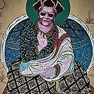 tibetan art. clementown, india by tim buckley | bodhiimages