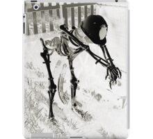 Working to the Bone iPad Case/Skin