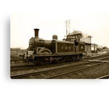 CR 419 (Sepia) Canvas Print