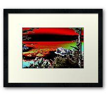Arch Rock Oregon Coast Framed Print