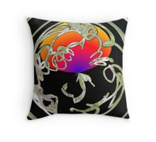 Cookin' in the Tropics Throw Pillow