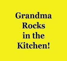 Grandma Rocks In The Kitchen! by Gustavinlavin
