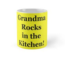 Grandma Rocks In The Kitchen! Mug