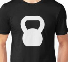 Kettlebell WOD White Large Unisex T-Shirt