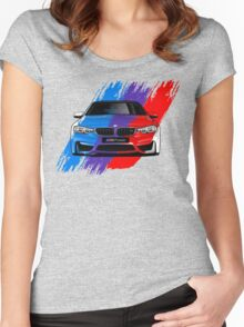 The BMW M4 Series Women's Fitted Scoop T-Shirt