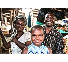 Market life Photographic Print