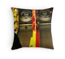 Old Game Throw Pillow