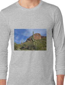 Saguaro Landscape Long Sleeve T-Shirt