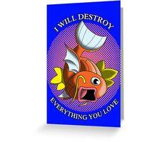 Killer Karp Greeting Card