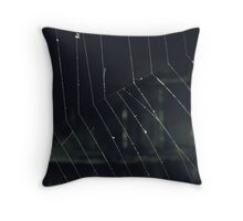 Intricate and Delicate Throw Pillow