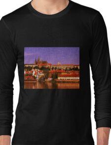 Prague Castle Long Sleeve T-Shirt