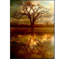 "A Place To ""Reflect"" Photographic Print"