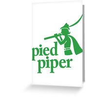 Pied Piper Greeting Card