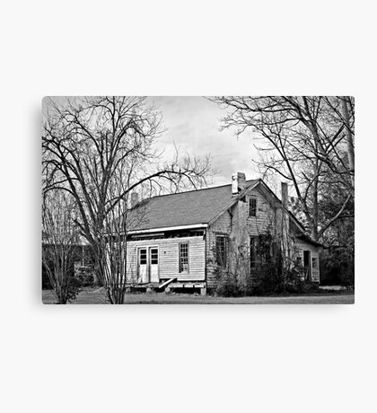 Clapboards and Chimneys Canvas Print
