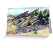 Red Rocks Park near Morrison, Colorado Greeting Card