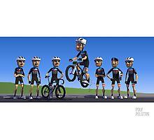 #PolyPeloton : Team Pure Savage Photographic Print
