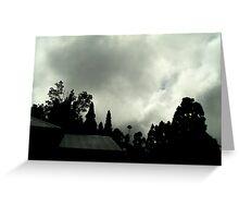 Overcast Zen Greeting Card