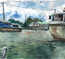 Potter Heigham Moorings by Hopebaby