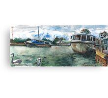 Potter Heigham Moorings Canvas Print