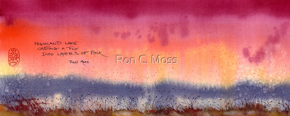 Layers Of Pink by Ron C. Moss