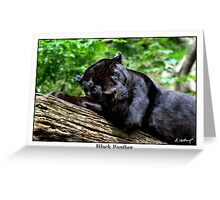 Black Panther Greeting Card