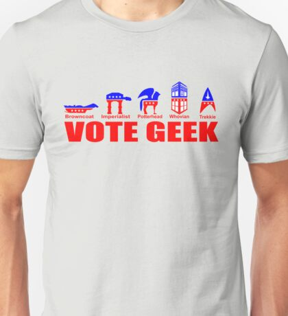 VOTE GEEK Unisex T-Shirt