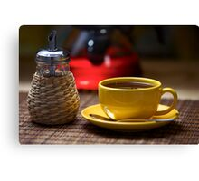 Yellow Cup Canvas Print