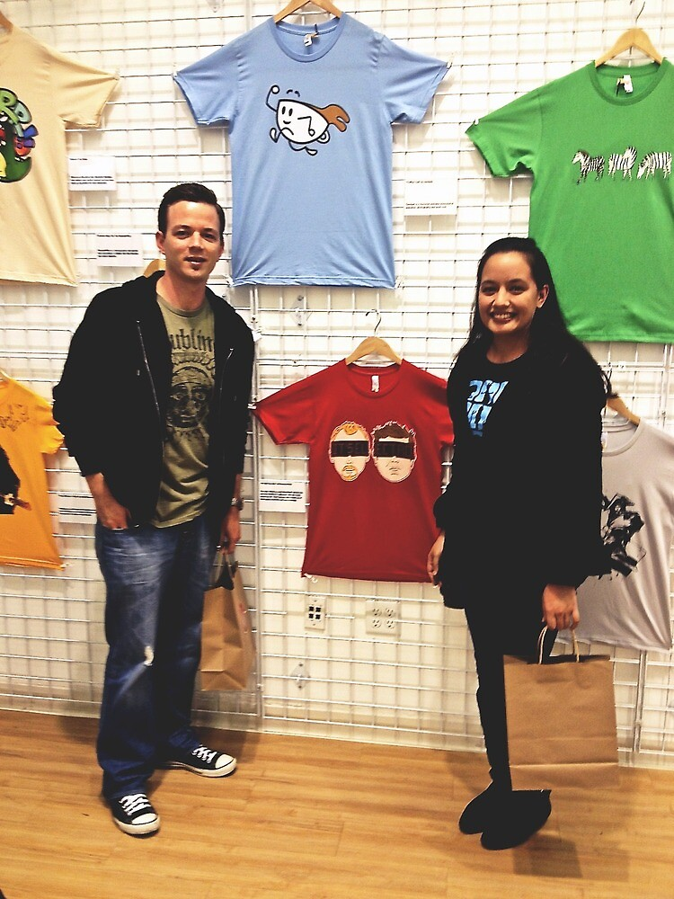 Theepiceffect & a Wall of T-shirts by Redbubble Community  Team