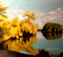 """Greenlake Reflections"" by joshua bloch"