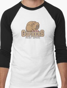 Pocket Gophers Men's Baseball ¾ T-Shirt