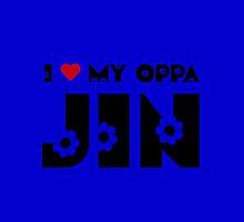 I HEART MY OPPA JIN - BLUE by Kpop Love