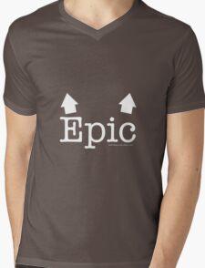 Epic Breasts Reverse Mens V-Neck T-Shirt