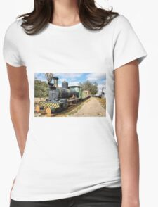 THE TRAIN - LOCOMOTIVE CLARA Womens Fitted T-Shirt