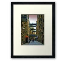Butlers Wharf London - HDR Framed Print