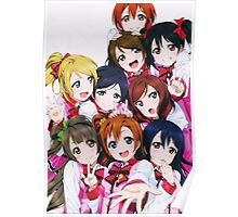 Love Live! School Idol Festival μ's Group Poster Poster
