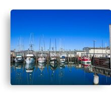 San Francisco Fisherman's Wharf Marine Canvas Print