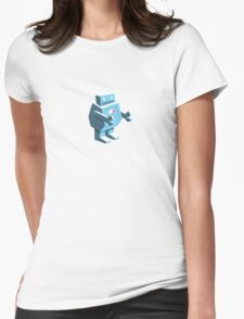 Roboto Womens Fitted T-Shirt