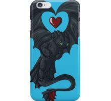 Toothless love iPhone Case/Skin