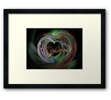 Opening of The Heart Framed Print