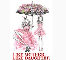 Like Mother Like Daughter Womens Fitted T-Shirt