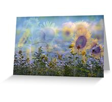 Sunflower Symphony Greeting Card