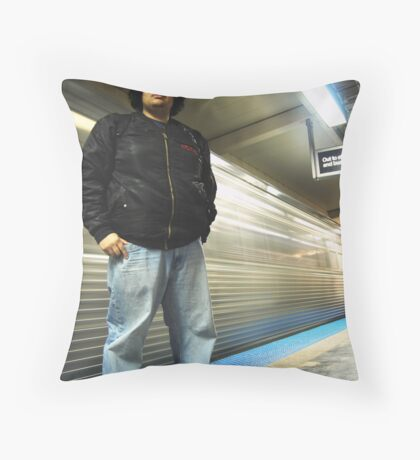 Chicago CTA Throw Pillow